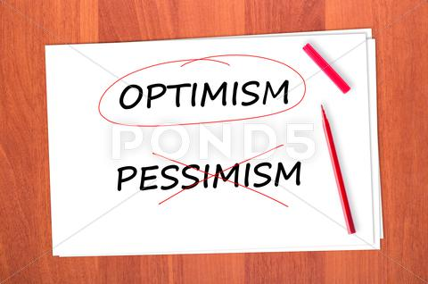 Stock photo of optimism