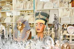 Famous egyptian history Stock Photos