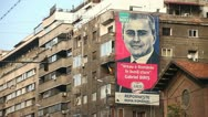 Parliamentary Elections Campaign in Bucharest, Romania Stock Footage