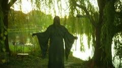 Angel of death grim reaper Stock Footage