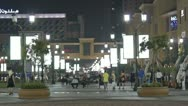 Stock Video Footage of nightlife Marina Walk