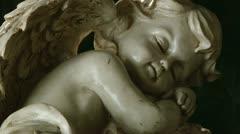 Sleeping angel Stock Footage
