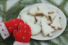 Christmas cookies. - stock photo