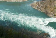 Niagara River Rapids NTSC - stock footage
