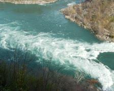 Niagara River Rapids PAL Stock Footage