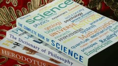 Book of Science Stock Footage