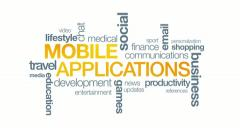 Mobile Applications - stock footage
