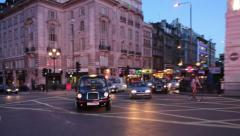 Piccadilly Driving POV Stock Footage