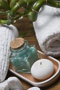 spa for relax. - stock photo