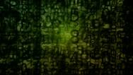 Matrix grunge Stock Footage
