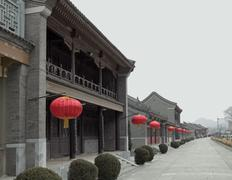 Near the great wall of china Stock Photos