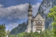 Stock Photo of castle neuschwanstein
