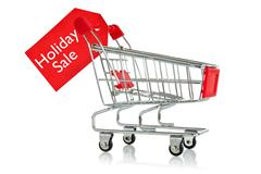 Stock Photo of holiday sale