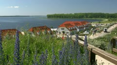 Salzhaff View in Rerik - Baltic Sea, Northern Germany Stock Footage
