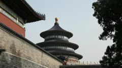 Tiantan, The Temple of Heaven in Beijing, China, Chinese Religious Complex Stock Footage