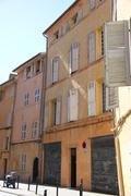 Street in aix-en-provence Stock Photos