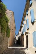 Stock Photo of streetview of vaison la romaine