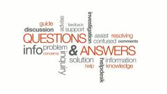 Questions And Answers Stock Footage