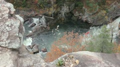 Stock Video Footage of Tallulah Gorge #4