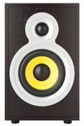 Modern audio speaker Stock Photos