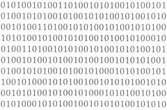 Abstract binary code Stock Photos