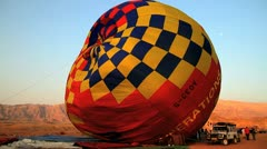 Ballon on the ground Stock Footage