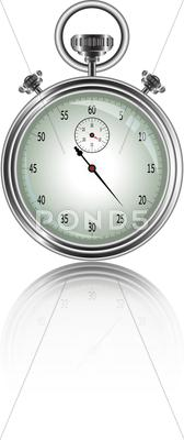 Stock Illustration of vector design of stopwatch