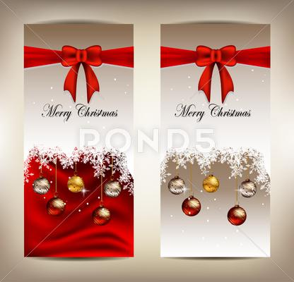 Stock Illustration of beauty christmas card background