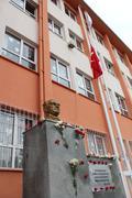 Commemoration of Ataturk , ceremony turkey - stock photo