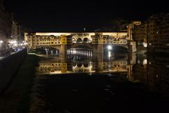 florence, ponte vecchio - stock photo
