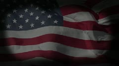 Stock Video Footage of God Bless America 1 - Patriotic