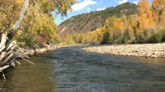 Mountain Landscape in Fall - stock footage