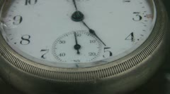Antique Pocket Watch Shaking Stock Footage