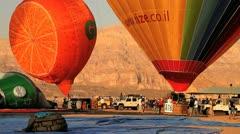 orange balloon - stock footage