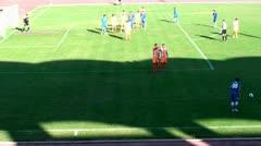 FOOTBALL (PENALTY FILING) HD - stock footage