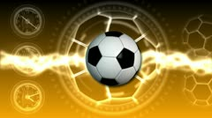 Soccer Ball Sport Background 24 (HD) - stock footage