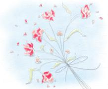 flowers bouquet.jpg - stock illustration
