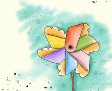 toy windmill.jpg - stock illustration