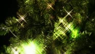 Stock Video Footage of Christmas Tree Lights
