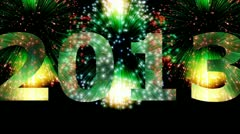 Fireworks - 2013 Stock Footage