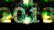 Stock Video Footage of Fireworks - 2013