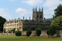 merton college - stock photo