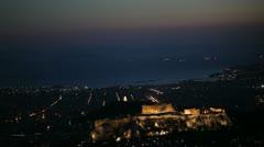 Athens city views - Parthenon - stock footage