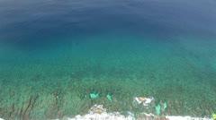 Tropical Island Reef Stock Footage