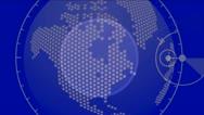 Global GPS,earth map,city map,military Radar GPS screen display,navigation inte Stock Footage