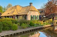Stock Photo of beautiful traditional dutch house