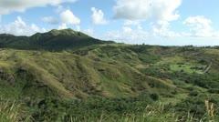 Mountain Jungle tropical Stock Footage