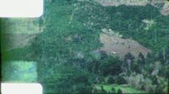 DEFORESTATION Amazon Rainforest 1970s Vintage 8mm Film Home Movie 5797 Stock Footage
