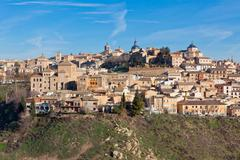 Stock Photo of old toledo town, spain