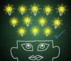 A good business intelligence. Stock Illustration